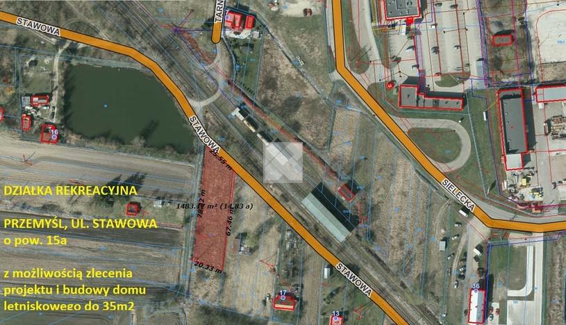 Działka na sprzedaż, Przemyśl Stawowa, 1500 m²   Morizon.pl   4309