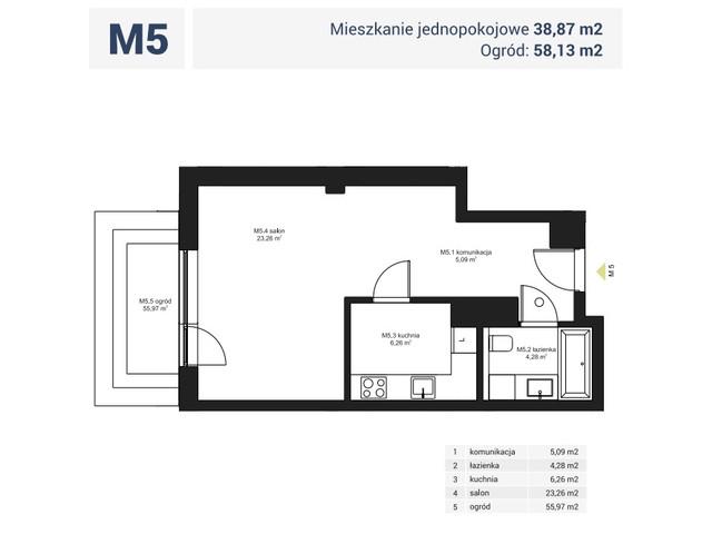 Morizon WP ogłoszenia | Mieszkanie w inwestycji Osiedle Pochyła, Warszawa, 39 m² | 0689