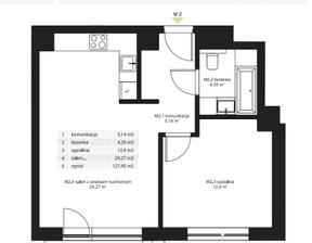 Mieszkanie w inwestycji Osiedle Pochyła, Warszawa, 46 m²