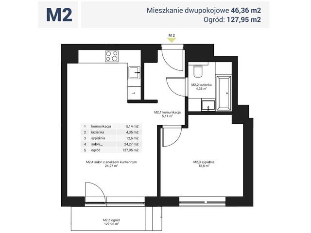 Morizon WP ogłoszenia | Mieszkanie w inwestycji Osiedle Pochyła, Warszawa, 46 m² | 0082
