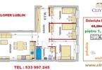 Morizon WP ogłoszenia | Mieszkanie na sprzedaż, Lublin Dziesiąta, 63 m² | 6660