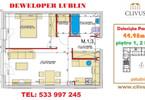 Morizon WP ogłoszenia   Mieszkanie na sprzedaż, Lublin Dziesiąta, 45 m²   6785