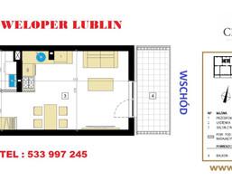 Morizon WP ogłoszenia | Kawalerka na sprzedaż, Lublin Dziesiąta, 29 m² | 6688