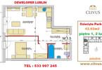 Morizon WP ogłoszenia | Mieszkanie na sprzedaż, Lublin Dziesiąta, 43 m² | 6789