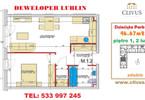 Morizon WP ogłoszenia | Mieszkanie na sprzedaż, Lublin Dziesiąta, 47 m² | 6775
