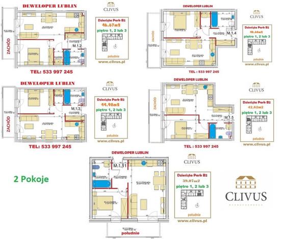 Morizon WP ogłoszenia   Mieszkanie na sprzedaż, Lublin Dziesiąta, 45 m²   6642