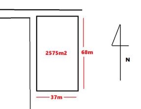 Działka na sprzedaż, Wiktorów, 2575 m²