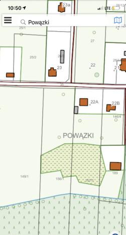 Działka na sprzedaż, Powązki, 900 m²   Morizon.pl   8914