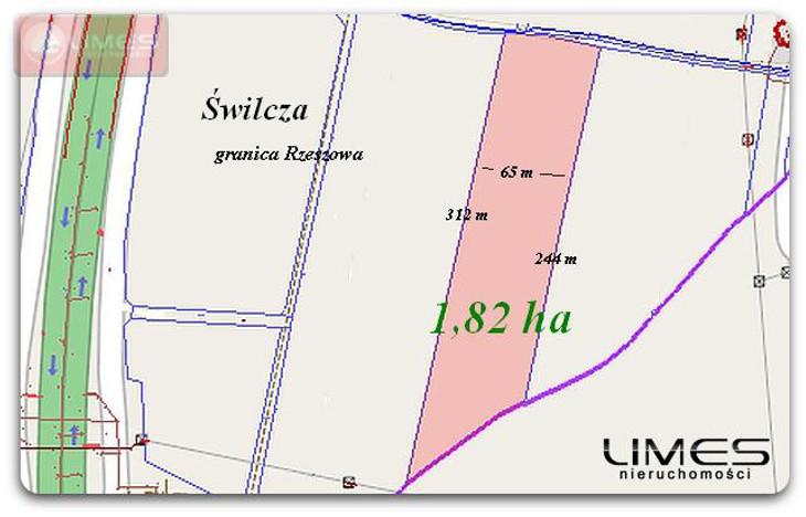 Działka na sprzedaż, Świlcza, 18200 m²   Morizon.pl   2341