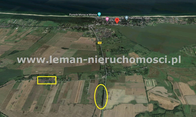 Działka na sprzedaż, Strzeżenice, 1188 m²   Morizon.pl   9838