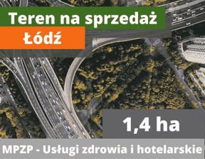 Działka na sprzedaż, Łódź Polesie, 13800 m²