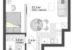 Morizon WP ogłoszenia | Kawalerka na sprzedaż, Kraków Grzegórzki, 28 m² | 9554