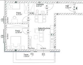 Mieszkanie na sprzedaż, Tychy Śródmieście, 53 m²
