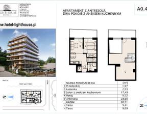 Mieszkanie na sprzedaż, Mrzeżyno, 60 m²