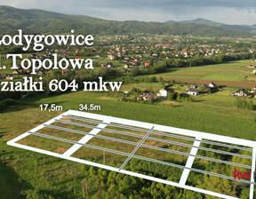 Działka na sprzedaż, Łodygowice Topolowa, 604 m²