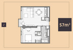 Mieszkanie do wynajęcia, Warszawa Śródmieście, 57 m² | Morizon.pl | 5958 nr2