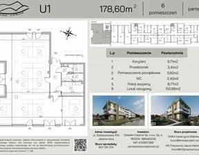 Lokal użytkowy na sprzedaż, Jelenia Góra Cieplice Śląskie-Zdrój, 179 m²