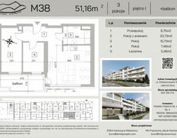 Morizon WP ogłoszenia | Mieszkanie na sprzedaż, Jelenia Góra Cieplice Śląskie-Zdrój, 51 m² | 7375