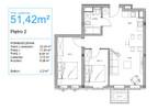 Mieszkanie do wynajęcia, Stargard 11 Listopada, 52 m² | Morizon.pl | 5961 nr12