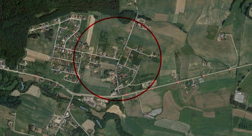 Działka na sprzedaż, Lniska, 1162 m² | Morizon.pl | 5193