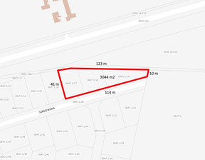 Działka na sprzedaż, Gdańsk Kokoszki, 3044 m²