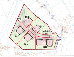Działka na sprzedaż, Gdańsk Ujeścisko-Łostowice, 881 m²