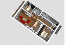 Mieszkanie na sprzedaż, Polkowice Liliowa, 70 m²