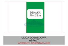 Działka na sprzedaż, Warszawa Mokotów, 867 m²