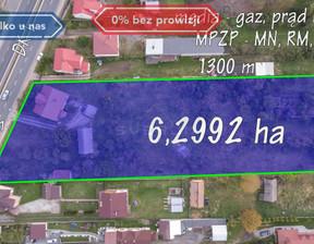 Działka na sprzedaż, Wanaty Warszawska, 62992 m²