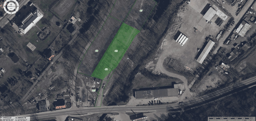 Działka na sprzedaż, Złoty Stok Kolejowa, 2800 m² | Morizon.pl | 9884