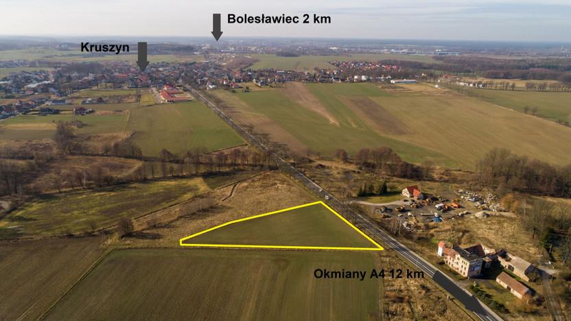 Działka na sprzedaż, Bolesławiec kruszyn, 6500 m²   Morizon.pl   2517