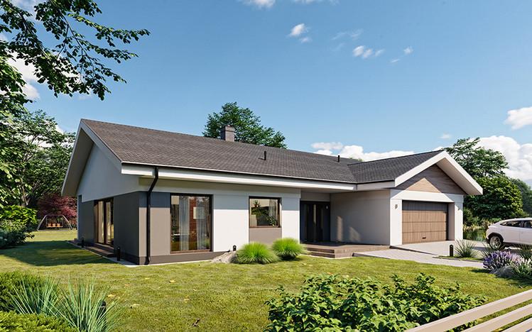 Dom w inwestycji Osiedle Rozalin, Lusówko, 241 m² | Morizon.pl | 7309