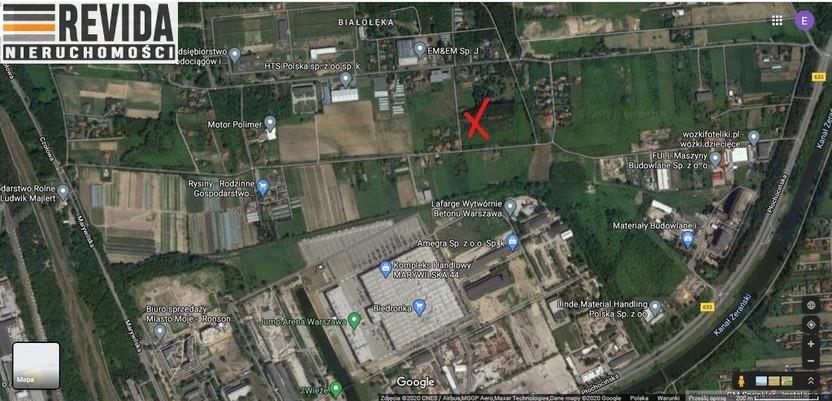 Działka na sprzedaż, Warszawa Białołęka Dworska, 35000 m² | Morizon.pl | 2418