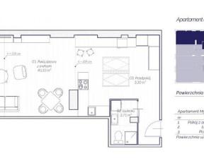 Mieszkanie na sprzedaż, Kraków Stare Miasto, 56 m²