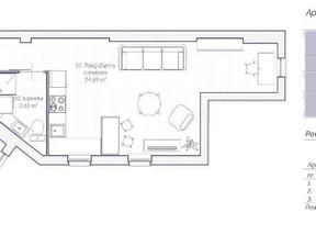 Mieszkanie na sprzedaż, Kraków Stare Miasto, 43 m²