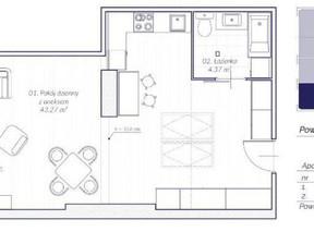 Mieszkanie na sprzedaż, Kraków Stare Miasto, 57 m²