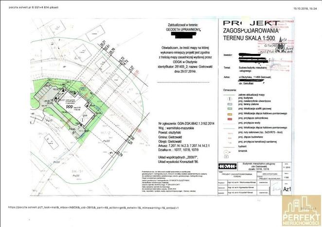 Działka na sprzedaż, Gietrzwałd Olsztyńska, 2246 m² | Morizon.pl | 5493