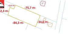 Działka na sprzedaż, Zalasewo, 2822 m²