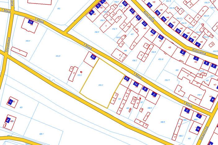 Działka na sprzedaż, Ośno Lubuskie, 1248 m² | Morizon.pl | 3253