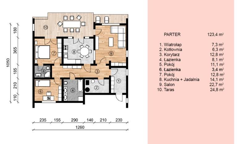 Dom w inwestycji Satori House, Michałów-Reginów, 99 m² | Morizon.pl | 9437