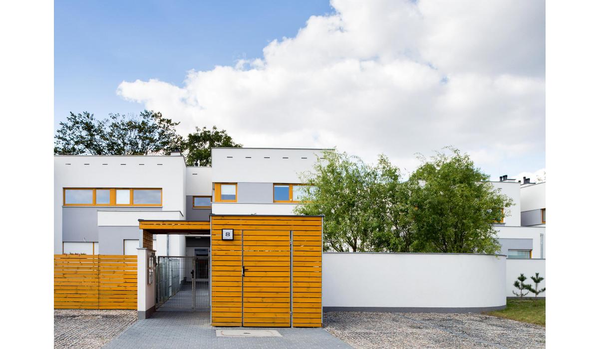 Dom w inwestycji DĄBRÓWKA, LEŚNA POLANA – DOPIEWIEC, Dąbrówka, 75 m² | Morizon.pl | 1463