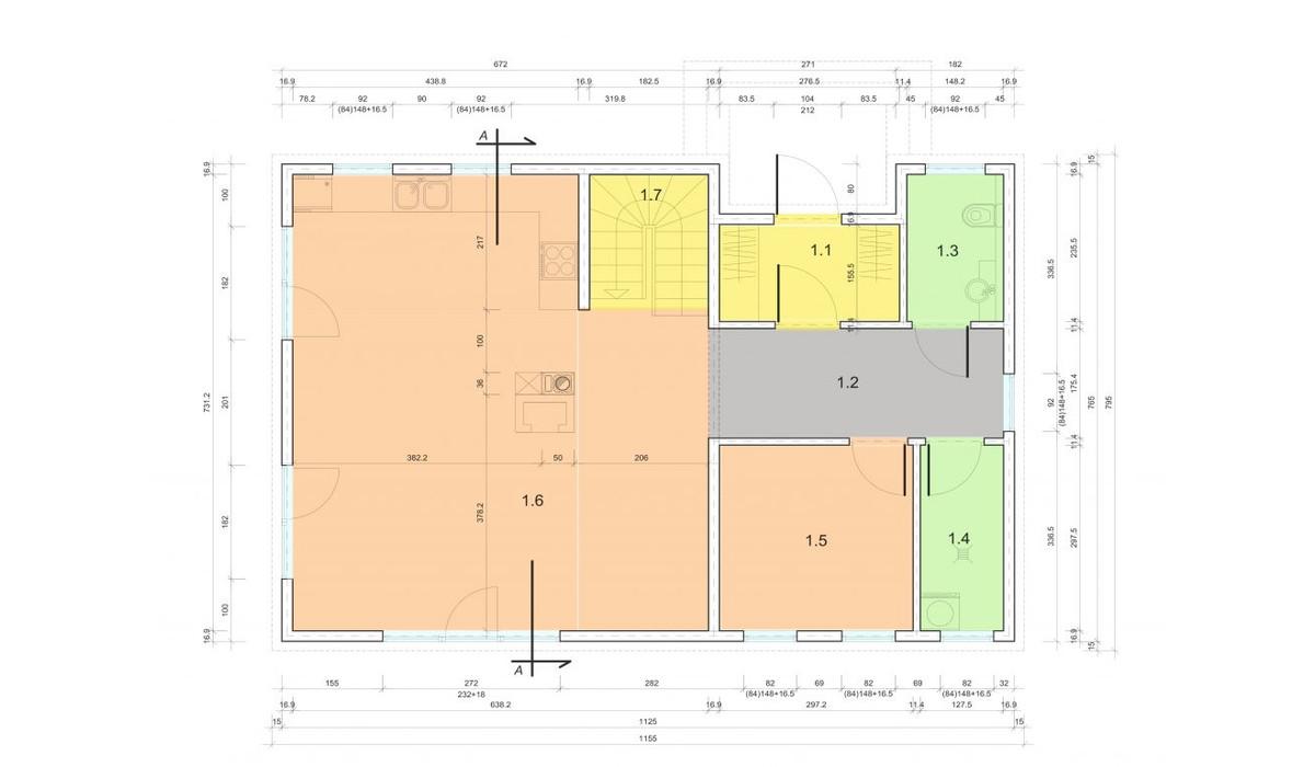 Dom w inwestycji Zielone Osiedle - Domy Jednorodzinne, Kołobrzeg, 134 m² | Morizon.pl | 1419