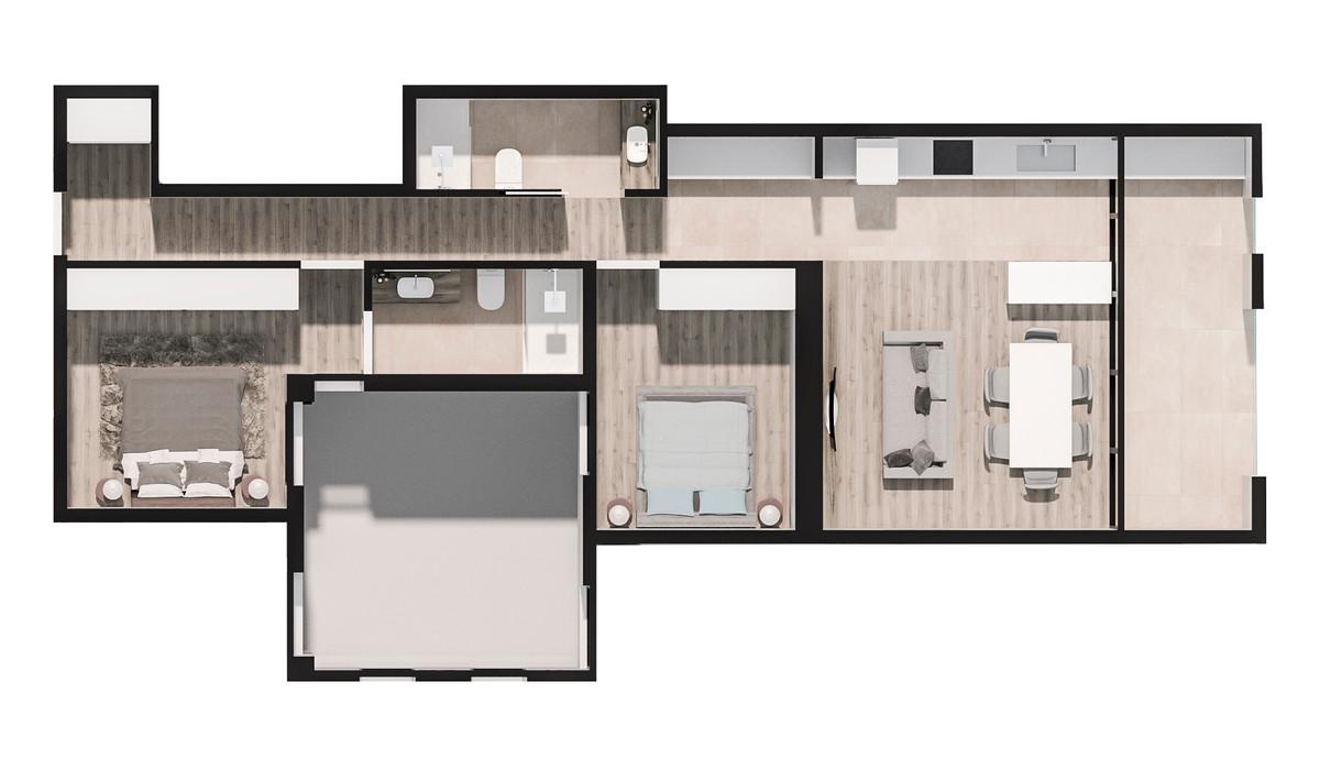 Mieszkanie w inwestycji PORTAL DEL MAR (BUILDING IN GUARDAMAR..., Hiszpania Torrevieja, 85 m²   Morizon.pl   3315