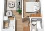 Morizon WP ogłoszenia | Mieszkanie w inwestycji Stawowa Przystań, Kraków, 34 m² | 7764