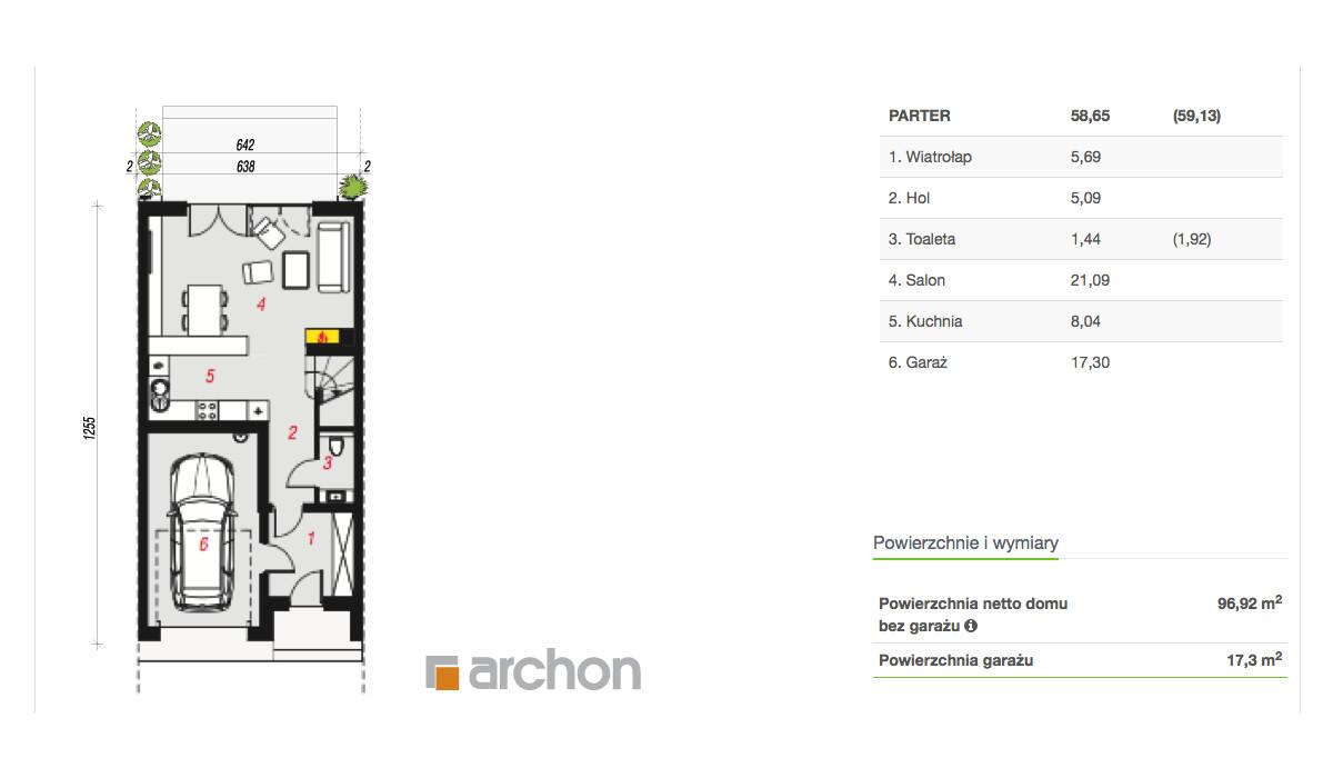 Dom w inwestycji Osiedle Kameralne, Piaseczno, 115 m² | Morizon.pl | 3697