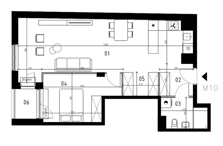 Mieszkanie w inwestycji Nova Praga - Koprzywiańska 2, Warszawa, 56 m² | Morizon.pl | 9037