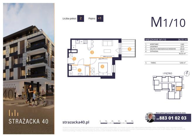 Mieszkanie w inwestycji Strażacka 40, Rzeszów, 37 m² | Morizon.pl | 2946