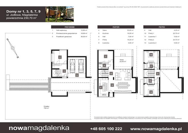 Dom w inwestycji Nowa Magdalenka, Magdalenka, 231 m² | Morizon.pl | 2210