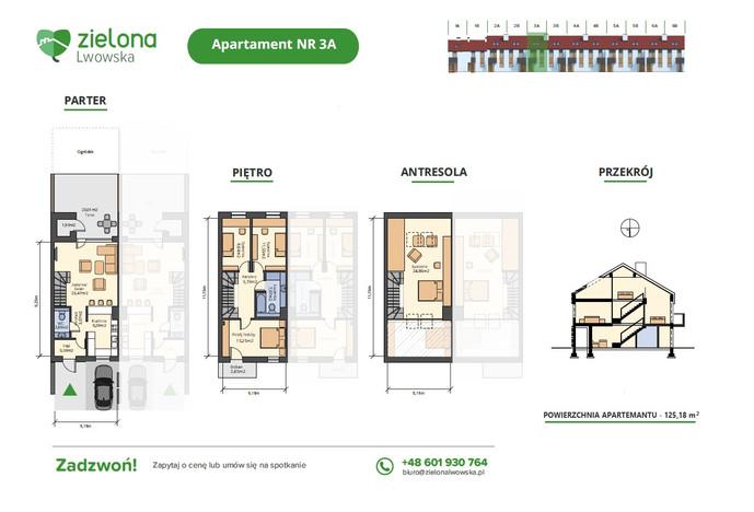 Dom w inwestycji Zielona Lwowska, Rzeszów, 125 m² | Morizon.pl | 1892