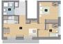 Morizon WP ogłoszenia | Mieszkanie w inwestycji KW51, Kraków, 44 m² | 1299